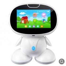 新款儿童人工智能早教机器人视频对话课本同步智能触屏
