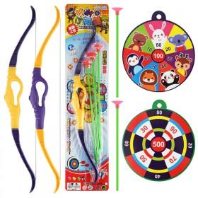 儿童弓箭玩具吸盘塑料男女孩户外射击射箭弹弓运动全