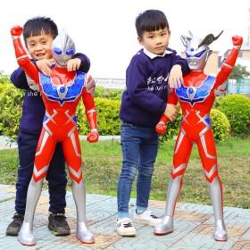 奥特曼玩具超大号儿童银河超人迪迦泰罗赛罗变身器召唤