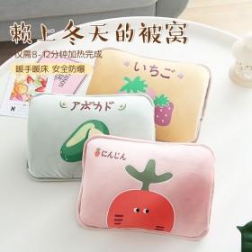 新款暖宝宝充电热水袋注水可爱毛绒韩版暖手宝