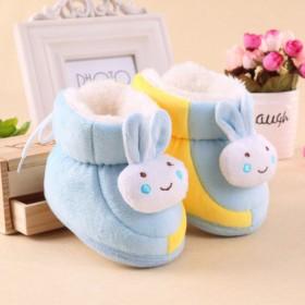 婴儿棉鞋加厚加绒宝宝学步鞋