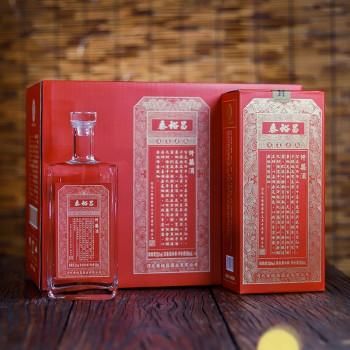 泰裕昌千禧52度浓香型白酒