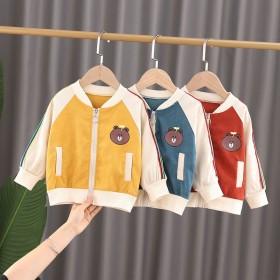 男女童秋装夹克衫2020新款男女宝宝儿童外套