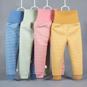 儿童保暖裤 加绒保暖裤 高腰裤护肚裤男女童可开档