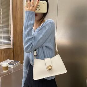 上新质感小包包女包2020夏季新款潮简约百搭斜挎包