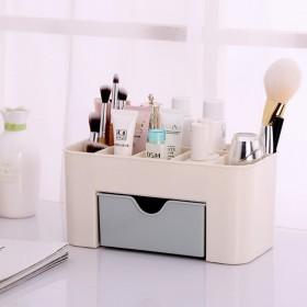 化妆品收纳盒桌面口红网红护肤面膜梳妆台家用置物架