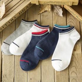 夏季袜子男士休闲运动男袜 袜子女短筒袜地摊货源船
