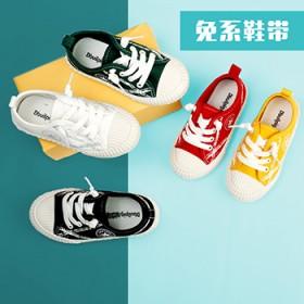 男童布鞋儿童帆布鞋2020春秋新款女童小红布鞋