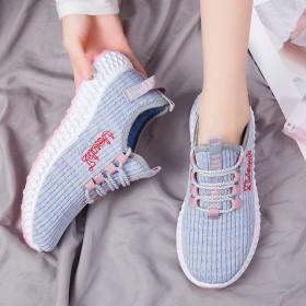 春秋季新款女鞋休闲鞋女运动鞋