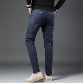 休闲裤男士直筒宽松商务西裤