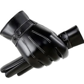 皮手套 防风防水 冬季保暖 男女通用