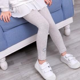 新款韩版女童打底裤秋款中小儿童打底裤
