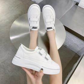 小白鞋女鞋夏季网红魔术贴板鞋百搭爆款2020秋季新
