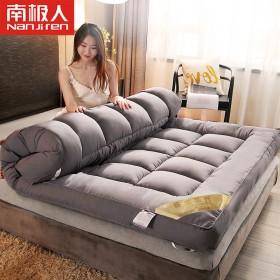 南极人加厚床垫10cm可折叠榻榻米1.8米床被褥子