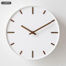 钟表挂钟客厅现代简约轻奢风时钟挂墙静音北欧餐厅家用
