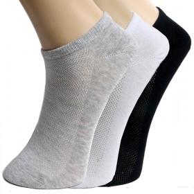 船袜纯棉短袜薄款浅口隐形防滑男女袜
