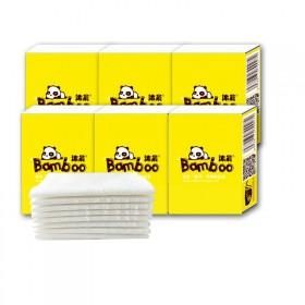 10包原木手帕纸学生小包面巾纸餐巾纸3层共享纸巾