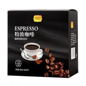 50条 黑咖啡速溶特浓三合一美式纯咖啡粉无蔗糖
