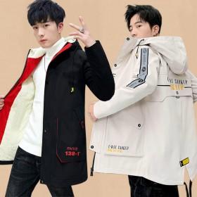 加厚棉衣男秋冬韩版中长款外套男学生加绒夹克冬装棉服