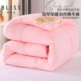 10斤8斤被子冬被加厚保暖被芯单人棉被褥春秋被太空