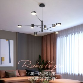 LED吊灯大气客厅灯卧室餐厅灯家用创意个性艺术北欧
