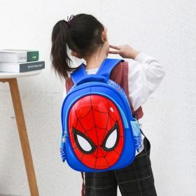 蜘蛛侠幼儿园书包男孩入园小班3岁轻便可爱双肩包潮儿