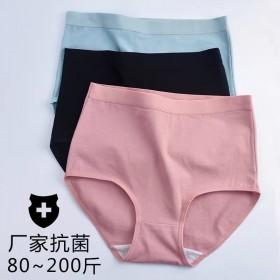140-200斤加肥加大2020日系高腰内裤女大码