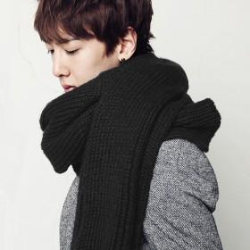 秋冬毛线围巾防羊绒围巾披肩通用