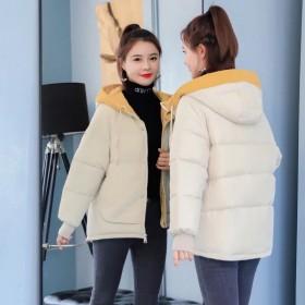 羽绒棉服女短款冬季2020新款韩款面包服加厚款