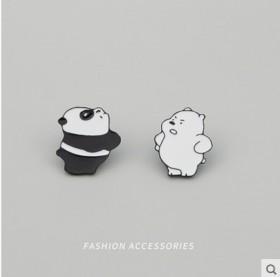 小熊猫胸针女可爱日系徽章卡通别针装饰