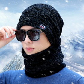 AA大品牌 毛线帽围脖两件套装