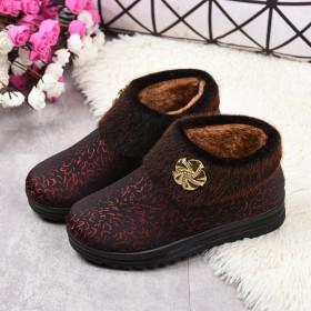 冬季老北京布鞋女棉鞋