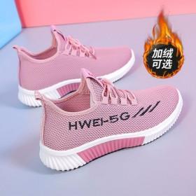 加绒新款老北京布鞋女