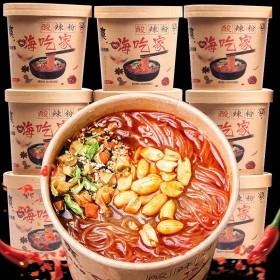 6桶 酸辣粉整箱桶装网红方便速食粉红薯粉米线米粉