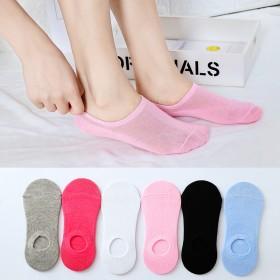 1双装船袜女薄款吸汗透气休闲运动低帮浅口短袜子女i