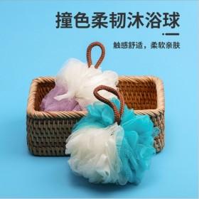 【2个装】浴花球不散可爱少女泡泡浴泡澡球洗浴用品搓