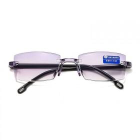 通用智能变焦100-700度中老年人眼镜看远看近男