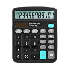财务会计计算器12位学生教师办公用品大屏幕计算器