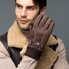 冬季保暖真皮手套拍下满减