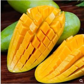【一级果】5斤新鲜水果芒果越南大青芒非凯特芒贵妃