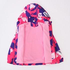 女童外套一体绒中大童冲锋衣加绒洋气春秋童装秋装儿童