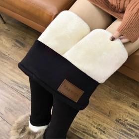 2020冬季新款超厚加绒显瘦打底裤高腰紧身修身