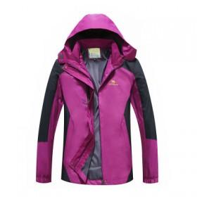冲锋衣外套男女款大码休闲登山服防风防水保暖冲锋衣
