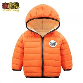冬季儿童棉衣外套加厚棉服棉袄男童女童宝宝上衣外套