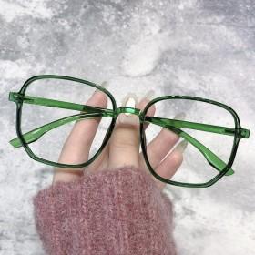 防蓝光防辐射女0-600度近视眼镜