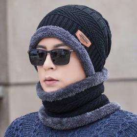 加厚保暖护耳针织棉帽子毛线帽纯棉