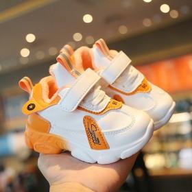 2020冬款儿童鞋加绒男女童运动鞋宝宝学步鞋子婴儿