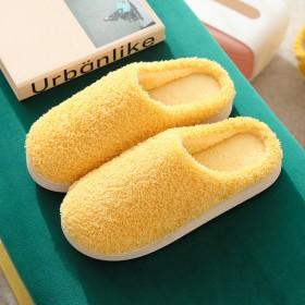 包邮2020冬季棉拖鞋女加厚保暖绒毛室内家居棉鞋情