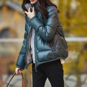 短款羽绒服外套女潮保暖2020冬季新款立领轻薄′