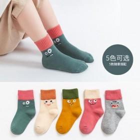 儿童袜子春秋冬款男童女童中筒袜小孩宝宝袜学生袜